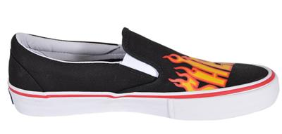 Pro Low Top Thrasher Black Flame