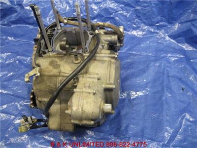 HONDA TRX TRX450R ENGINE MOTOR TRANSMISSION BOTTOM END COMPLETE CASES