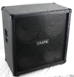 crate slm usa g 412 electric guitar amplifier amp 120w 8 ohm speaker cabinet cab ebay. Black Bedroom Furniture Sets. Home Design Ideas