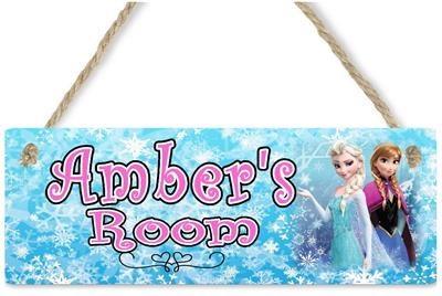 12x18 Personalized Disney Frozen Cast Room Door Poster