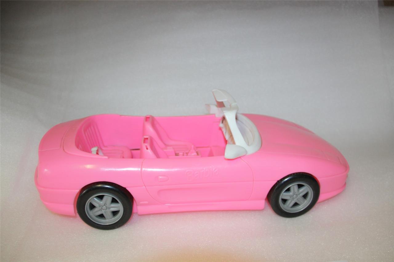 vintage barbie car pink car barbie car 1996 vintage toy. Black Bedroom Furniture Sets. Home Design Ideas
