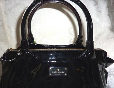 NWT Kate Spade #3095 Flicker Stevie Large Black Refacing Genuine
