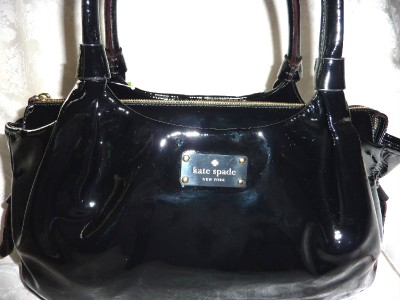 NWT Kate Spade #3095 Flicker Stevie Large Black Refacing Genuine