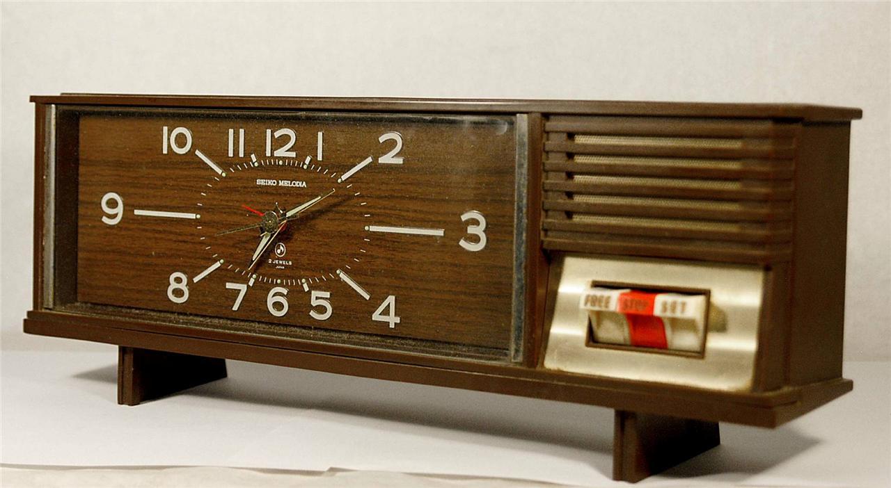 Vintage Seiko Desk Clocks Ideas