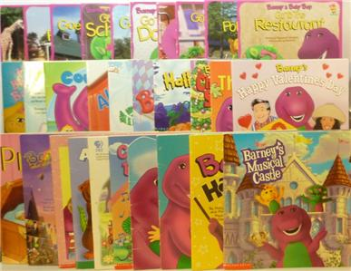 Lot Of 30 Barney The Purple Dinosaur Story Books On Popscreen