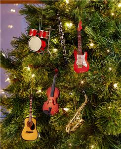 Musical Instrument Christmas Tree Ornaments Saxophone ...