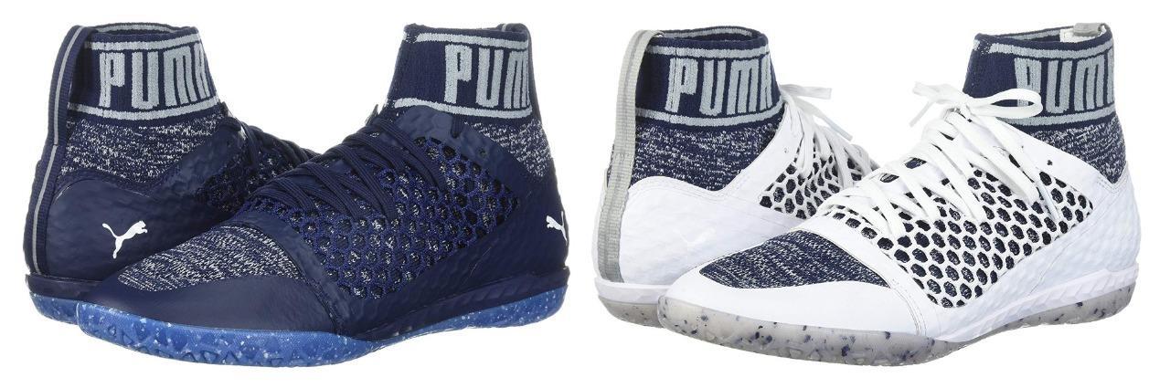 6cb609cc0 New Men's Puma 365 evoKNIT Netfit CT Soccer Shoes Size 11-14 Blue White  104698