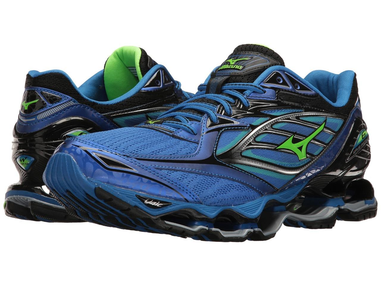 New Mizuno Wave Prophecy 6 Running Shoes Men s Size 9 Blue Last Pair ... dbf8d75c43238