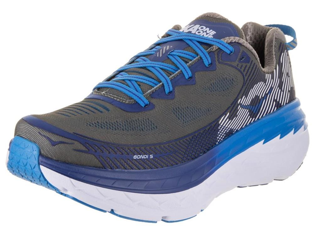3e7f1f195e58 New Men s Hoka One One Bondi 5 Running Shoes Size 10 2E Wide 1016604 ...