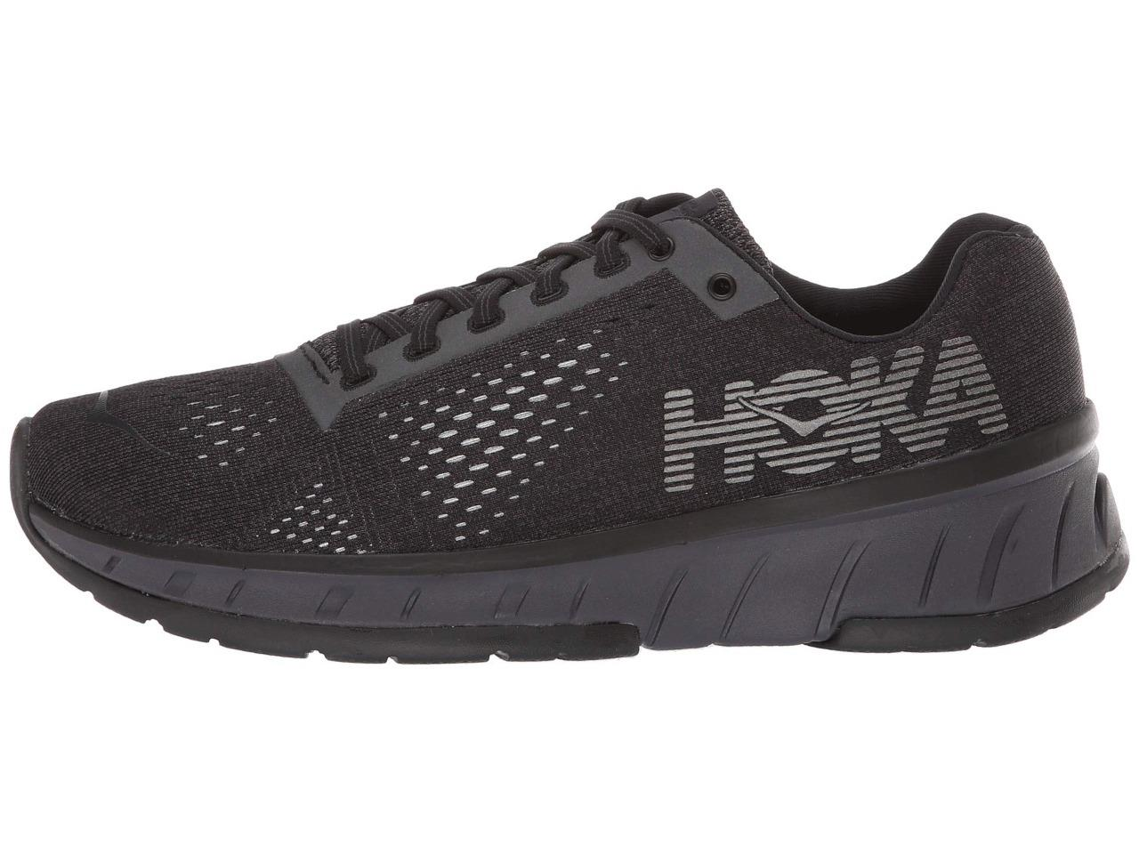 New Women/'s Hoka One One Cavu FN Running Shoes Sizes 5-5.5 Black 1099757 BNIR