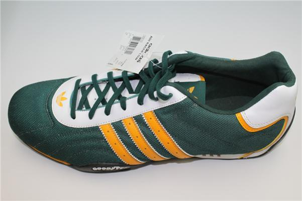 new rare men 039 s adidas adi racer low goodyear green shoes size 14 last pair ebay. Black Bedroom Furniture Sets. Home Design Ideas