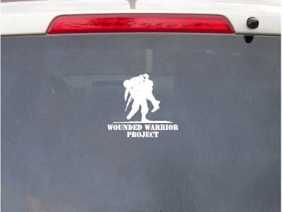 6in Vinyl Decal Wounded Warrior Project Car Truck Sticker
