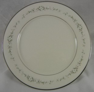 Noritake Heather Dinner Plate China 10 5 8 Inches Ivory W