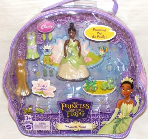 e0a908569c9 Disney Princess Tiana and The Frog Mini Doll Set Polly Pocket New on ...