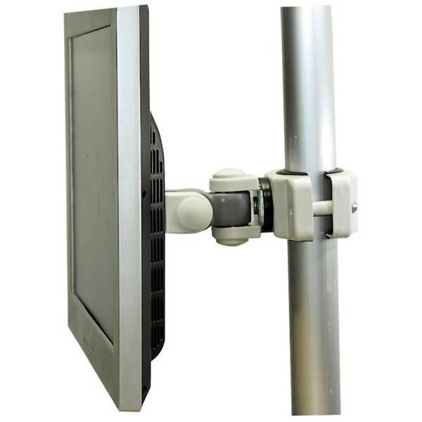 Tilt Amp Rotate Pole Mounting Bracket For Tv Hdtv Lcd Led