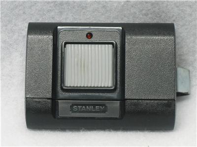 Used Stanley Model 1050 Garage Door Opener Remote