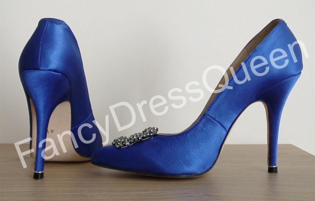 blue wedding shoes sex and the city in Eaton