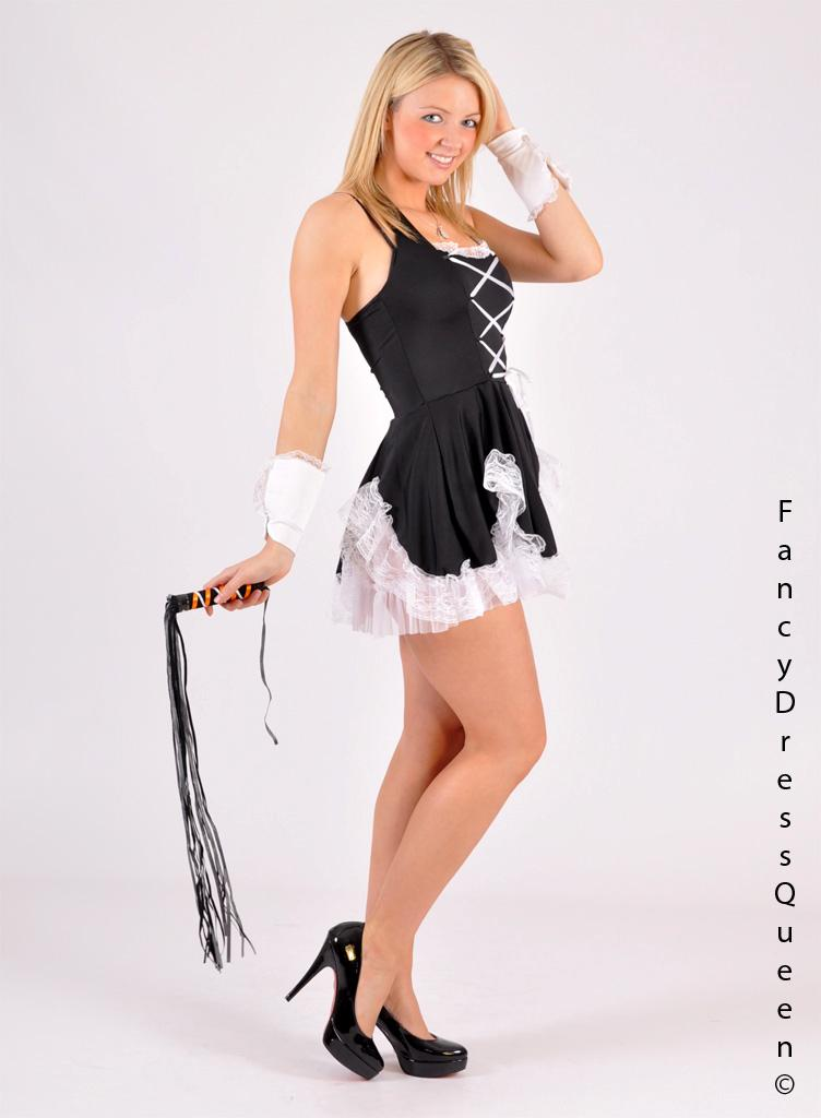 Country Teens Kinky French Maid Outfit