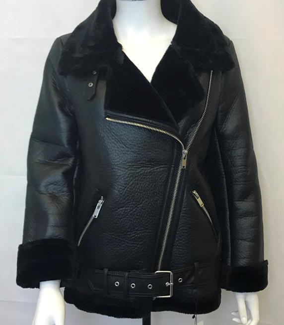 Shearling Aviator Jacket Womens Zara Les Baux De Provence