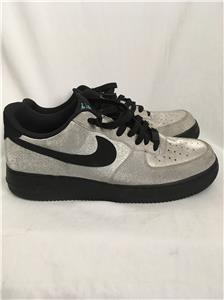 6473f468cf2b NIKE AIR FORCE 1 LOW SPARKLY SILVER