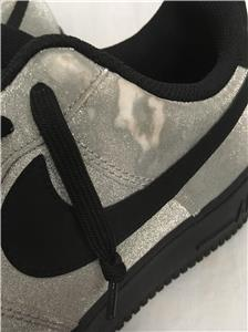 3d42b0e15611 NIKE AIR FORCE 1 LOW SPARKLY SILVER