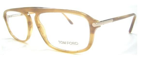 645221a1778b Tom Ford TF 5002 Eyeglasses RX Frames 376 Tobac on PopScreen