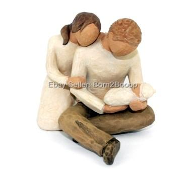 Willow Tree Figurines Mother And Daughter New Life Father