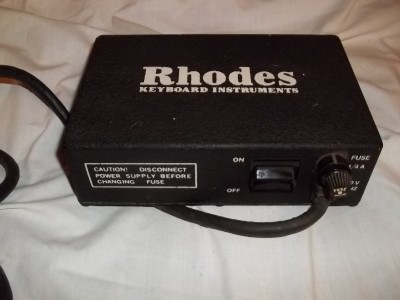 fender rhodes keyboard piano power supply converter to amp p n 014372 super rare ebay. Black Bedroom Furniture Sets. Home Design Ideas