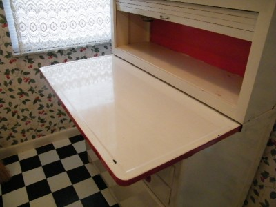 Authentic Theses Hoosier Style Cabinets