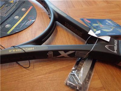NEW Head I X5 Made in Austria 102 head 4 3//8 grip Tennis Racquet