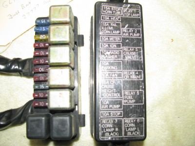 honda gold wing gl1200 fuse relays box ebay. Black Bedroom Furniture Sets. Home Design Ideas