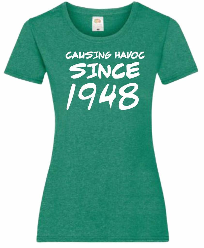 70th Birthday Gift Present Causing Havoc Since 1948