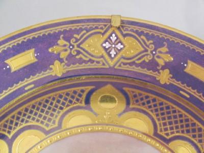 BEAUTIFUL ESTATE SIGNED ROYAL VIENNA PORTRAIT PLATE #177