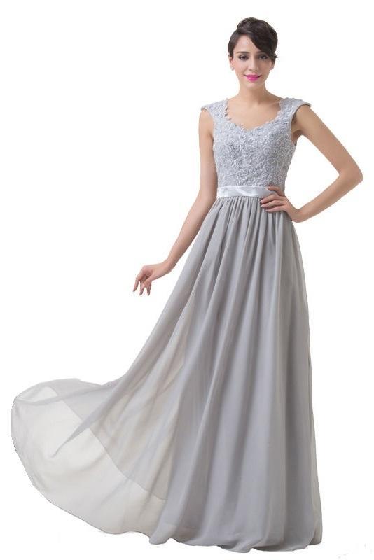 f1d7ac270a17 Long Grey Bridesmaid Dresses Uk - Dress Foto and Picture