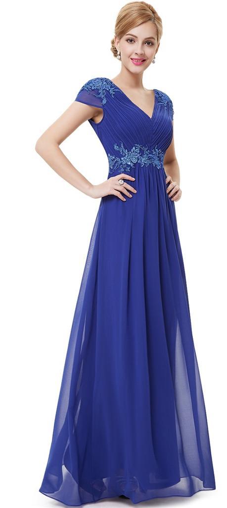 BNWT BREE Cobalt Blue Full Length Prom Evening Cruise ...