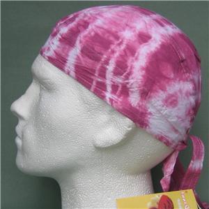 Purple Pink Tie Dye Bandana Do Du Doo Rag Hat Ready New Ebay