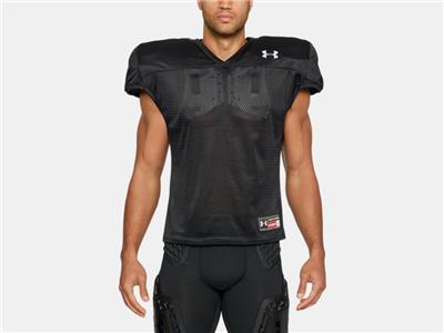 Under Armour Men/'s Football Practice Jersey 1276840-100 White