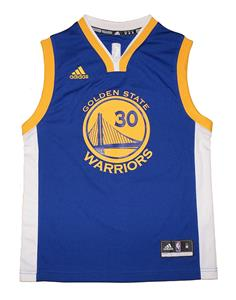 4a986f12 Youth 8-20 Stephen Curry Golden State Warriors NBA Adidas Royal ...