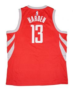 651df5db9e0 Youth Nike NBA Houston Rockets  13 James Harden Red Swingman Jersey Icon  Edition. Click images to enlarge