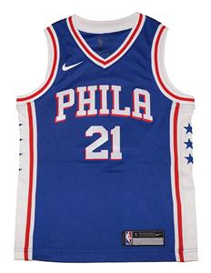 109ac0bb1 Youth Nike Philadelphia 76ers #21 Joel Embiid Royal Blue Swingman Jersey