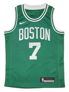 Youth Nike Boston Celtics  7 Jaylen Brown Kelly Green Swingman Jersey 34897c553