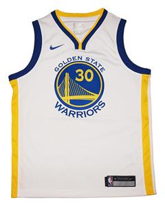 be9c114f4 Youth Nike s Stephen Curry #30 Golden State Warrior White Swingman Jersey - Association  Edition