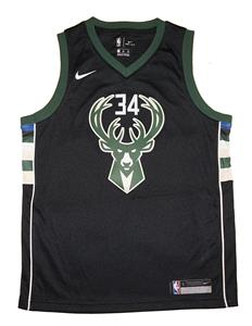 Youth Nike Giannis Antetokounmpo Bucks Black Swingman Jersey - Statement  Edition 55898b001