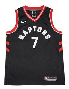 f0481ae0e4e Youth Nike Kyle Lowry Toronto Raptors Black Swingman Jersey - Statement  Edition