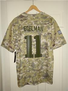 new arrival cc013 733fd Details about Youth Nike Julian Edelman Patriots 2018 Version Salute to  Service Game Jersey