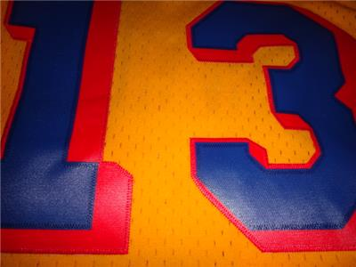 Wilt Chamberlain 1962-63 San Francisco Warriors Mitchell   Ness Swingman  Jersey 6b107abc8