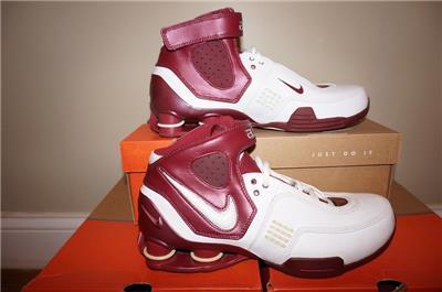 ... Nike Shox Elite TB Mens Basketball Shoes White Maroon eBay