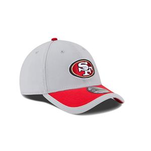 765d3a8b Details about Adult San Francisco 49ers New Era NFL Gray Sideline 39THIRTY  Flex Hat - M/L