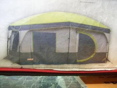 Coleman Max 8 Person Cabin Tent 13x9x6 Ebay