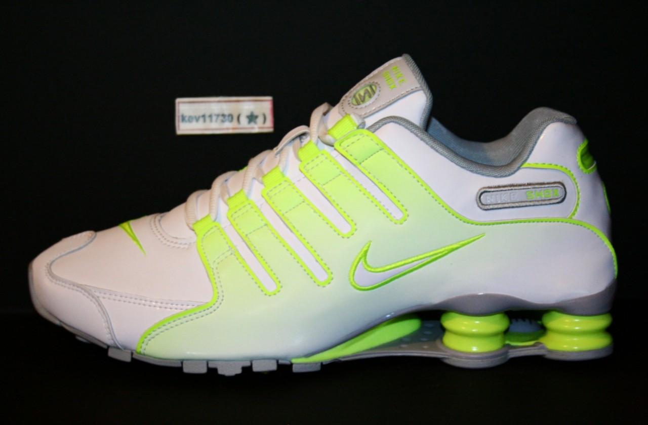 fff6dd1ce1b5 Neon Green Nike Shox Neon Green Nike Shox Sneakers